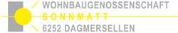 Wohnbaugenossenschaft Sonnmatt Dagmersellen Logo